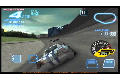 SPS: Ridge Racer Accelerated Video 1 PREVIEW - YouTube