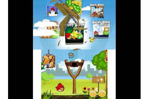 3DS Citra Angry Birds Trilogy Game Play - YouTube