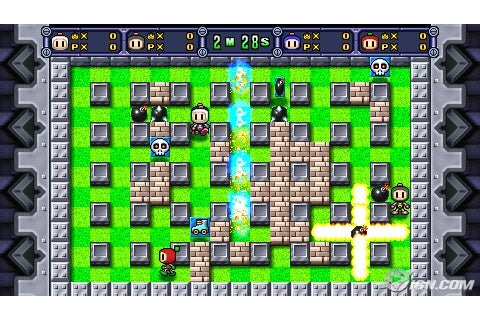 [Game] Bomberman Land - USA | Mania PSP - A Mania da Web