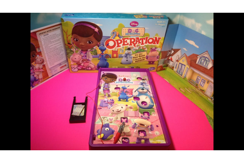 DOC MCSTUFFINS Operation Game Play Junior's Doc McStuffins ...