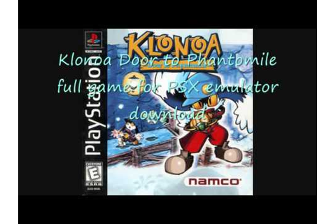 Klonoa Door to Phantomile download Klonoa download (full ...