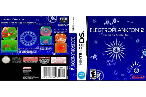 Electroplankton 2 Nintendo DS Box Art Cover by Oversoul