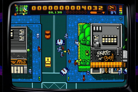 How 'Retro City Rampage' finally came to the NES - The Verge