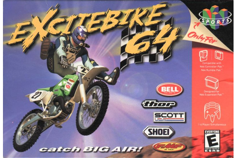 Excitebike 64 for Nintendo 64 (2000) - MobyGames