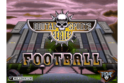 Brutal Football: Brutal Sports Series - The Company ...