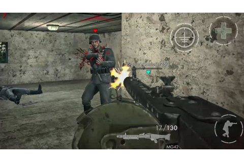World War Heroes [30 Minutes With MG 42] GamePlay Android ...