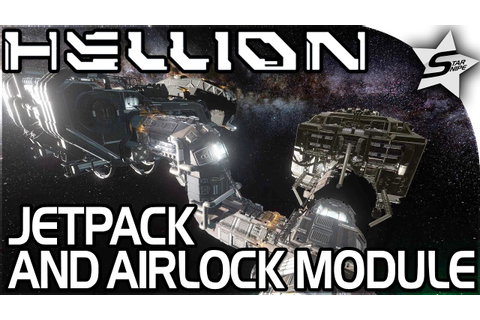 "HELLION - ""Space JETPACK, AIRLOCK MODULE, FULLY WORKING ..."