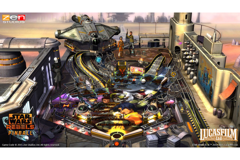 New Star Wars Rebels Table Announced For Star Wars Pinball ...