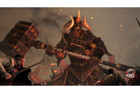 Watch Chaos Warriors conquer in Total War: Warhammer | VG247