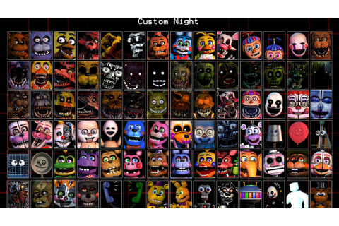 Ultimate Custom Night: Overtime | Five Nights at Freddy's ...