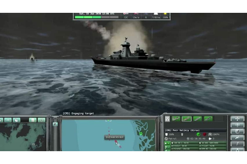 Arctic warfare computer game includes Canadian navy ...