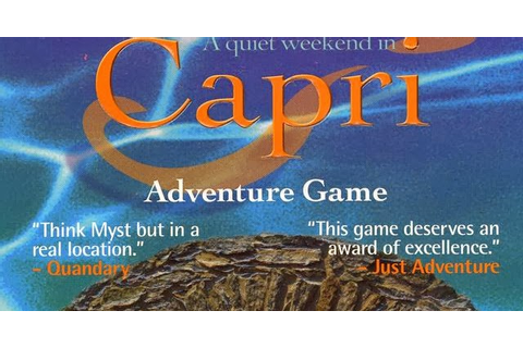 A Quiet Weekend in Capri | Just Games For Gamers