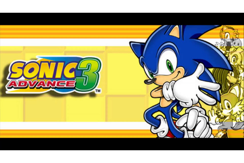 Sonic Advance 3 - Inicio do game - GBA - YouTube