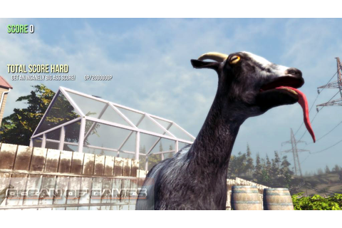 Goat Simulator Free Download - Ocean Of Games