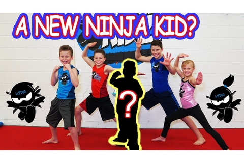 Who's the NEW NINJA KID? Ninja Kidz TV - YouTube