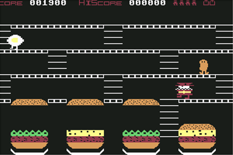 Download Mr. Wimpy: The Hamburger Game (Commodore 64) - My ...