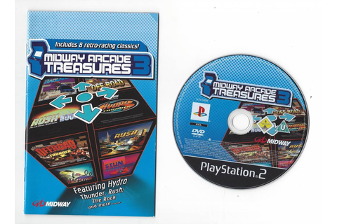 Midway Arcade Treasures 3 for Playstation 2 PS2 - Passion ...