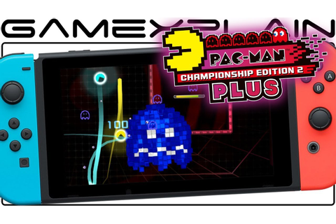 Pac-Man CE2 Plus - NEW 2-Player Gameplay (Nintendo Switch ...
