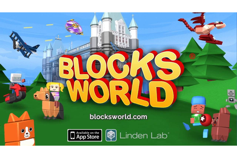 Blocksworld - Play & Build Fun 3D Games - YouTube