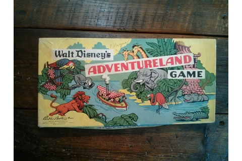 Walt Disney's Adventureland Board Game by Parker by 23XCompany