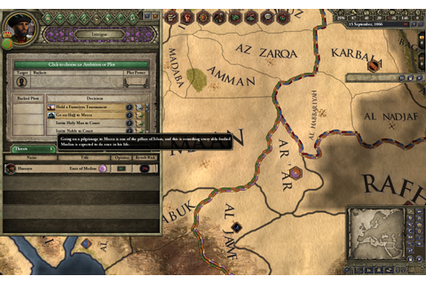 Screenshot image - Crusader Kings II: Sword of Islam - Mod DB