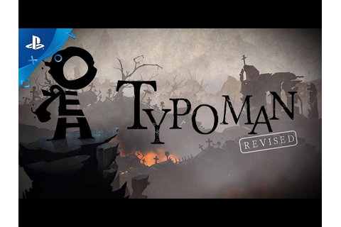 Typoman Game | PS4 - PlayStation