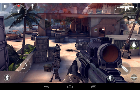 Modern Combat 4 Zero Hour v1.1.1[APK+DATA] DOWNLOAD ...
