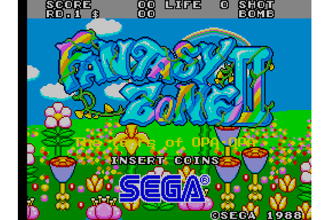 Fantasy Zone II: The Tears of Opa-Opa (1988) by Sega ...