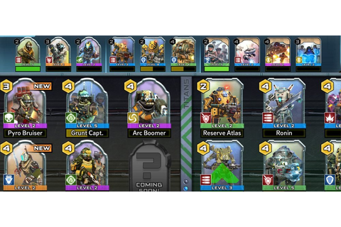 Titanfall: Assault Guide to ALL Cards in the Game | Touch ...