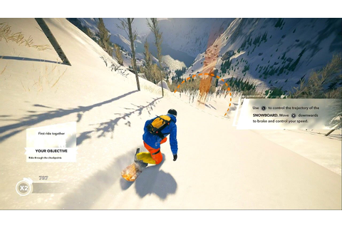 STEEP - First 20 Minutes Early Gameplay (New Snowboarding ...