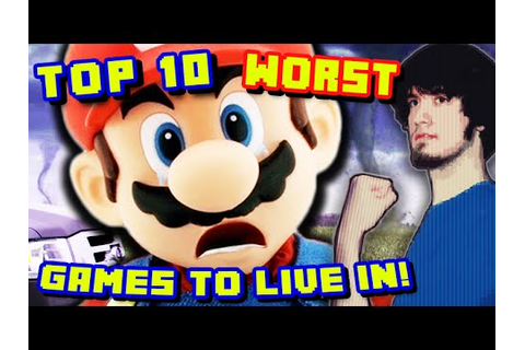Top 10 WORST Video Game Worlds To Live In! - PBG - YouTube