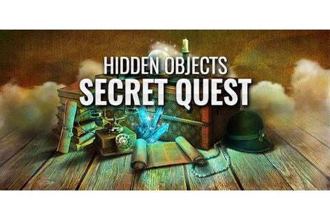 Secret Quest Hidden Objects Game – Mystery Journey - Apps ...