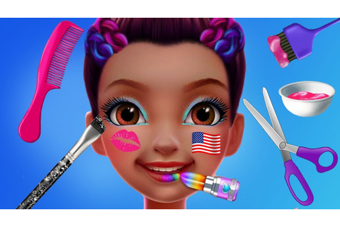Fun Gymnastics Superstar Dance Makeup Dress Up Spa Hair ...