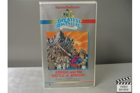 Joshua and the Battle of Jericho VHS Ed Asner, Mariette ...