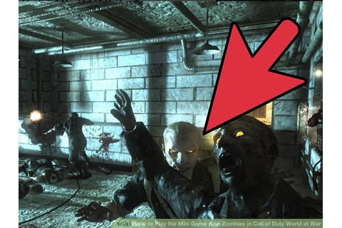 3 Ways to Play the Mini Game Nazi Zombies in Call of Duty ...