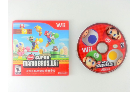 New Super Mario Bros. Wii game for Wii | The Game Guy