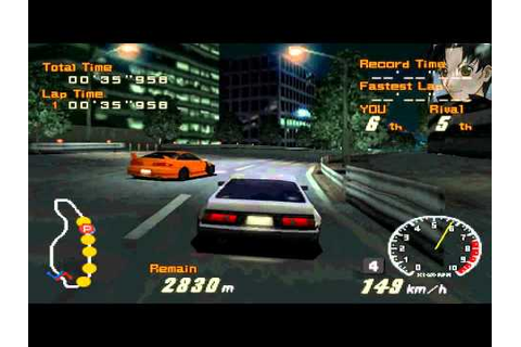 Racing Lagoon (PSX) - 1ra Carrera (AE86 Levin) - YouTube