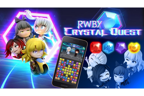 RWBY: Crystal Quest Mobile Game Announced - YouTube