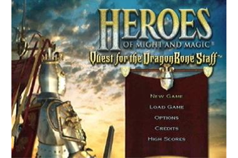 Screens: Heroes of Might and Magic: Quest for the Dragon ...