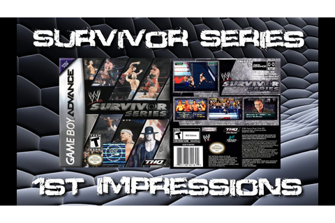 WWE Survivor Series First Impressions | Wrestling Game ...