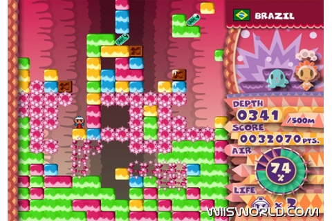 Mr Driller W on WiiWare