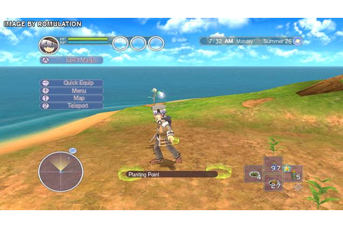 Rune Factory Tides of Destiny (USA) Nintendo Wii ISO ...