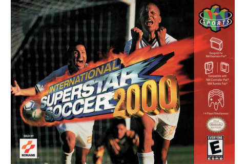 International Superstar Soccer 2000 Nintendo 64 N64