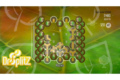 Droplitz (2009) by Blitz Games Windows game