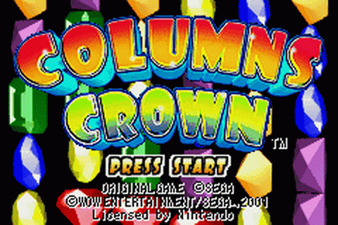 Play Columns Crown Nintendo Game Boy Advance online | Play ...