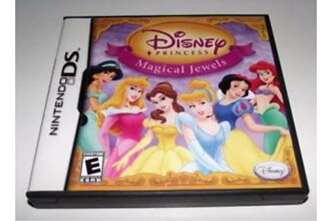 Disney Princess Magical Jewels Nintendo DS 2DS 3DS Game ...