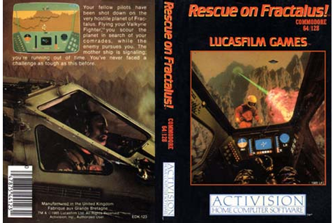 RESCUE ON FRACTALUS (ACTIVISION)