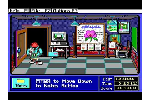 Super Solvers: Midnight Rescue! Gameplay (DOS) - YouTube