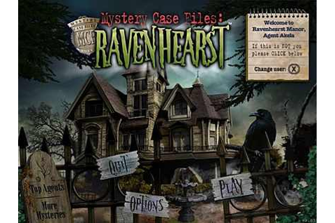 Mystery Case Files Ravenhearst Download Free Full Game