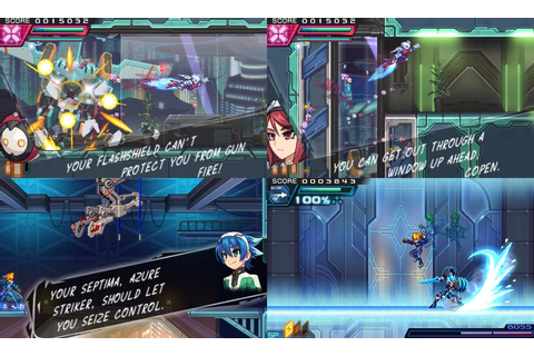 Review: Azure Striker Gunvolt 2 is a grounded game | Michibiku